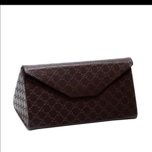 Gucci Monogrammed Flat or Trifold Hard Case